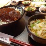 JR岡山駅でデミカツ丼を食べてみた